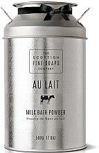 Profumi e cosmetici Polvere-latte da bagno - Scottish Fine Soaps Au Lait Milk Bath Powder
