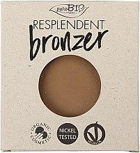 Profumi e cosmetici Bronzer - PuroBio Cosmetics Resplendent Bronzer (ricarica)