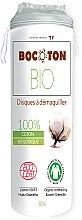 Profumi e cosmetici Tamponi di cotone organico, 80 pezzi - Bocoton