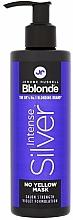Profumi e cosmetici Maschera per capelli biondi, grigi e decolorati - Jerome Russell Bblonde Intense Silver No Yellow Mask
