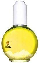 Profumi e cosmetici Olio unghie e cuticole - Silcare Olive Shells Citron Lemon Yellow