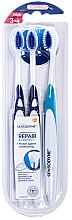 Profumi e cosmetici Set spazzolini da denti, extra morbidi - Sensodyne Repair Protect Extra Soft Triopack