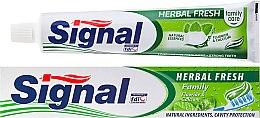 Profumi e cosmetici Dentifricio alle erbe - Signal Family Herbal Fresh Toothpaste