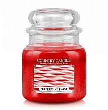 Profumi e cosmetici Candela profumata - Country Candle Peppermint Twist