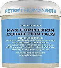 Profumi e cosmetici Dischi per la correzione del viso - Peter Thomas Roth Max Complexion Correction Pads