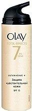 Profumi e cosmetici Crema giorno idratante - Olay Total Effects Day Cream Sensitive SPF15