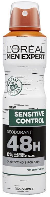 Deodorante-antitraspirante - L'Oreal Paris Men Expert Sensitive Control 48H Deodorant