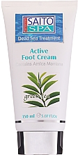 "Profumi e cosmetici Crema piedi ""Tè verde"" - Saito Spa Active Foot Cream Green Tea"