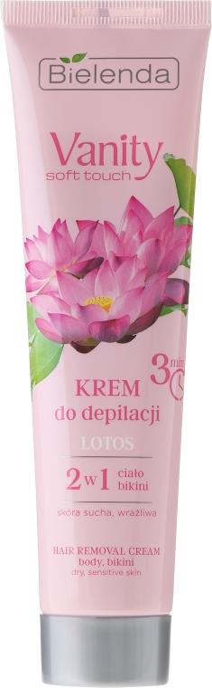 "Crema depilatoria ""Lotos"" - Bielenda Vanity Soft Touch Lotos — foto N2"