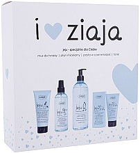 Profumi e cosmetici Set - Ziaja I Love Ziaja (f/paste/75ml + f/tonic/200ml + mincellar/water/390ml + f/muss/50ml)
