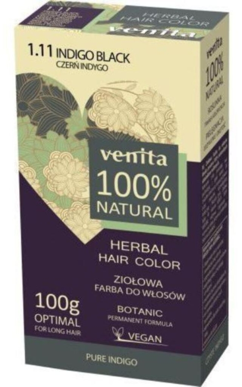Hennè per capelli - Venita Natural Herbal Hair Color