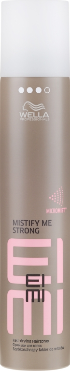 Lacca capelli - Wella Professionals Eimi Mistify Me Strong Hairspray