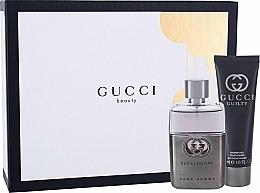 Profumi e cosmetici Gucci Guilty Pour Homme - Set (edt/50ml + sh/gel/50ml)