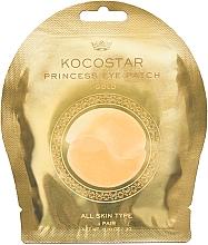 Profumi e cosmetici Patch occhi in idrogel, oro - Kocostar Princess Eye Patch Gold