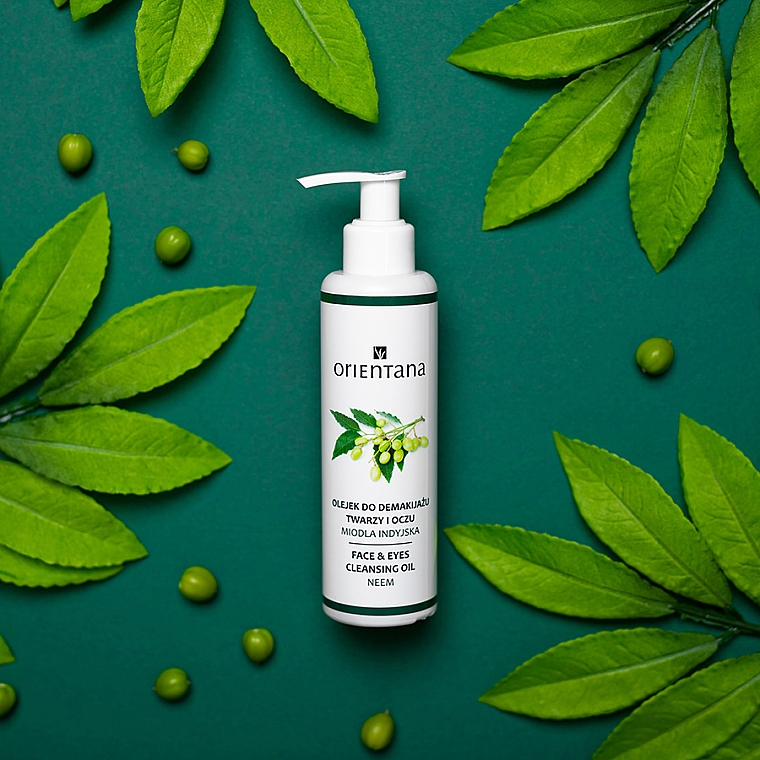 Olio struccante - Orientana Nourishing Cleansing Oil For Face & Eyes Neem — foto N2