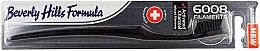 Profumi e cosmetici Spazzolino da denti, morbido - Beverly Hills Formula 6008 Filament Charcoal Toothbrush