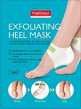 Profumi e cosmetici Maschera-peeling per talloni - Purederm Exfolaiting Heel Mask