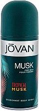 Profumi e cosmetici Jovan Tropical Musk - Deodorante
