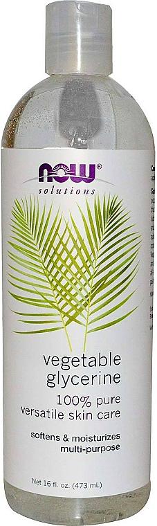 Glicerina vegetale - Now Foods Solution Vegetable Glycerine