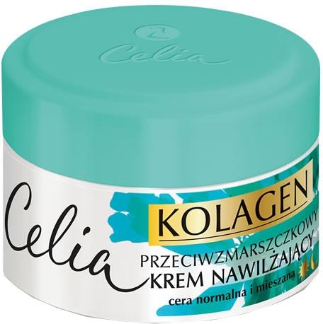 Crema idratante antirughe per pelli normali e miste - Celia Collagen Cream