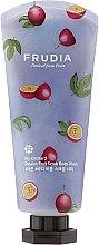 Profumi e cosmetici Gel doccia scrub al profumo di frutto della passione - Frudia My Orchard Passion Fruit Scrub Body Wash