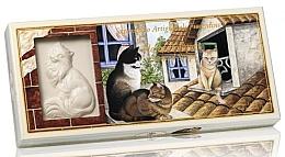 Profumi e cosmetici Set di sapone naturale a forma di gatto - Saponificio Artigianale Floral Bouquet Scented Soap (soap/3pcsx125g)