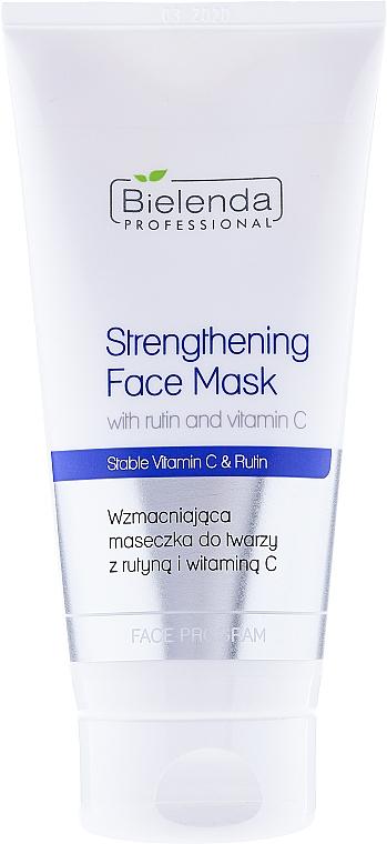 Maschera viso rassodante - Bielenda Professional Program Face Strengthening Face Mask