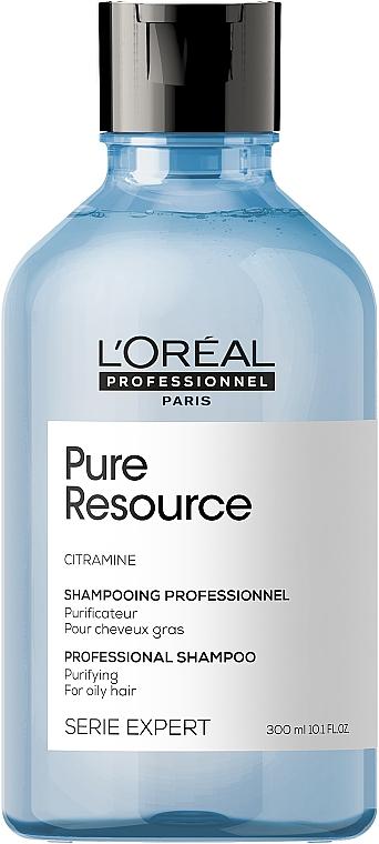 Shampoo detergente per capelli normali - L'Oreal Professionnel Pure Resource Purifying Shampoo