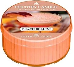 Profumi e cosmetici Candela profumata al tè - Country Candle Peach Bellini Daylight