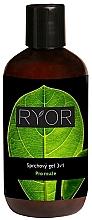 Profumi e cosmetici Gel doccia - Ryor Men Shower Gel 3 In 1