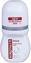 Profumi e cosmetici Deodorante roll on antitraspirante - Borotalco Pure Deodorant Roll On No Aluminium Salts 48h for Women