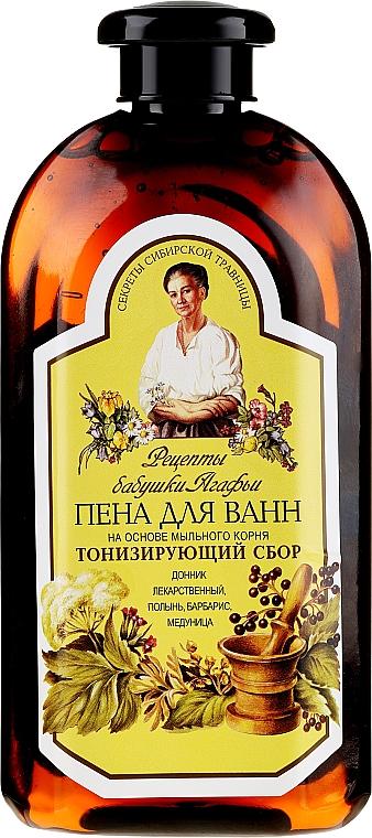 Bagnoschiuma tonica a base di radice di sapone - Ricette di nonna Agafya