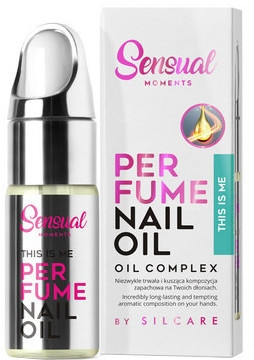 Olio profumato per cuticole - Silcare Sensual Moments Nail Oil This Is Me