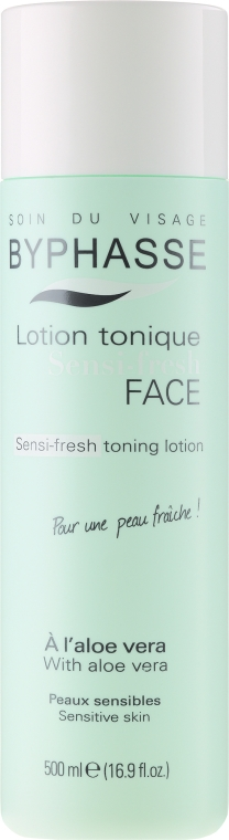 Tonico per pelle sensibile - Byphasse Sensi-fresh Aloe Vera Toning Lotion