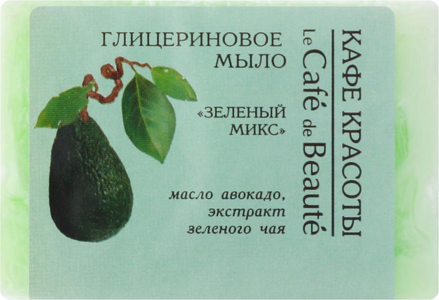 """Sapone alla glicerina """"Mix verde"""" - Le Cafe de Beaute Glycerin Soap"""