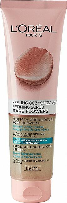 Scrub viso - L'Oreal Paris Skin Expert Rare Flowers Refining Scrub