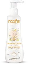 Profumi e cosmetici Lozione corpo al miele - Roofa Honey Body Lotion