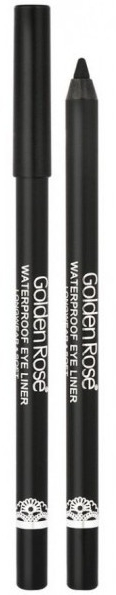 Eyeliner impermeabile per occhi - Golden Rose Waterproof Eyeliner Longwear & Soft Ultra Black