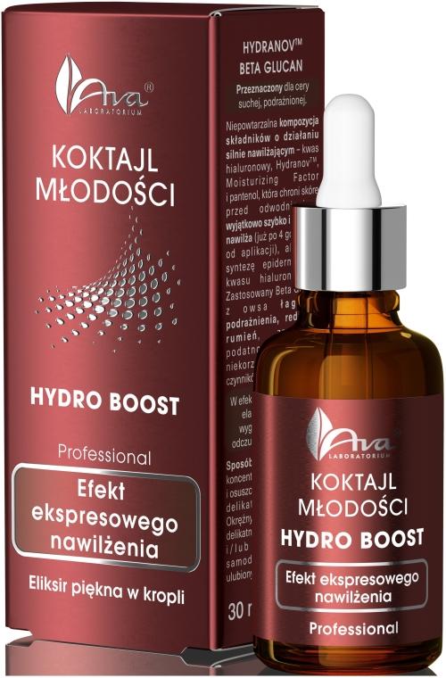 """Siero viso idratante """"Cocktail della giovinezza"""" - Ava Laboratorium Hydro Boost"""