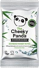 Profumi e cosmetici Salviettine umidificate - The Cheeky Panda Biodegradable Bamboo Handy Wipes