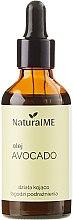 Profumi e cosmetici Olio di avocado, spremuto a freddo - NaturalME