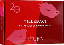 Set №1 - NoUBA Millebaci Box Set 5 Kisses Experience (lipstick/5x6ml) — foto N1