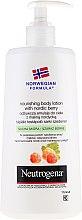 Profumi e cosmetici Lozione corpo - Neutrogena Nourishing Body Lotion With Nordic Berry Normal To Dry Skin