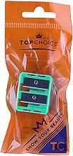 Profumi e cosmetici Temperino doppio per matite, 2199, verde - Top Choice