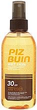 Profumi e cosmetici Spray protezione solare corpo - Piz Buin Wet Skin Transparent Sun Spray SPF30