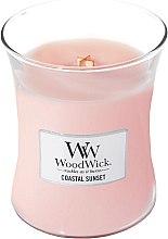 Profumi e cosmetici Candela profumata in vetro - WoodWick Hourglass Candle Coastal Sunset