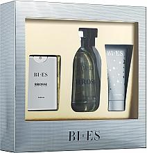 Profumi e cosmetici Bi-Es Brossi - Set (edt/100ml + edt/15ml + sh/gel/50ml)