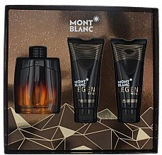 Profumi e cosmetici Montblanc Legend Night - Set (edp/100ml + sh/gel/100ml + ash/balm/100ml)