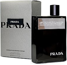 Profumi e cosmetici Prada Amber Pour Homme Intense - Eau de Parfum