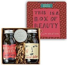 Profumi e cosmetici Set - Bath House Barefoot & Beautiful Box of Beauty Bodycare Gift Set